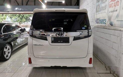 Jual mobil Toyota Vellfire ZG 2015 bekas, DKI Jakarta