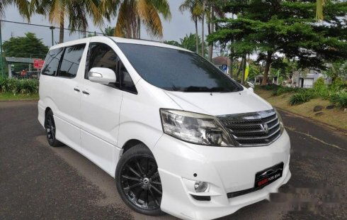 Jual Toyota Alphard 2007 harga murah di DKI Jakarta