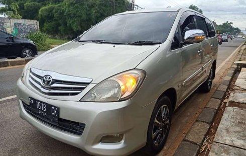 Toyota Kijang Innova 2.0 G 2010 MT Termurah di Bogor