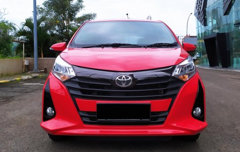 Toyota Calya G AT 2019 Merah, Facelift,Dp31jt,Km8rb, Genap,Pjk Nov 2021