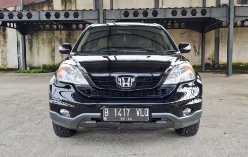 Honda CR-V 2.4 2012 Black On Beige Mulus Pjk Pjg TDP 35Jt
