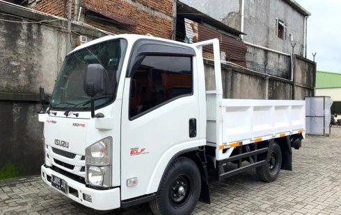 Km Rendah+BanBARU,MURAH CDE Isuzu Elf Engkel NLR55TX Bak Besi 2019 NLR