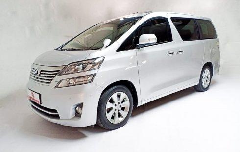 Toyota Vellfire 2.4 Premium Sound AT 2010 Silver Km Rendah