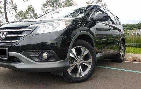 Honda All New CR-V 2.4 2013 A/T Hitam metallik mulus terawat siap pakai