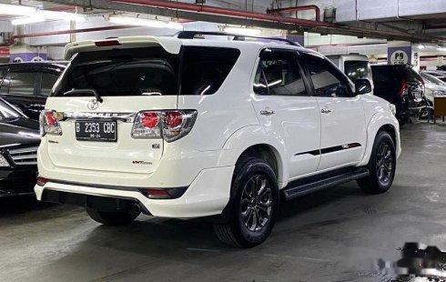 Jual cepat Toyota Fortuner G TRD 2014 di DKI Jakarta