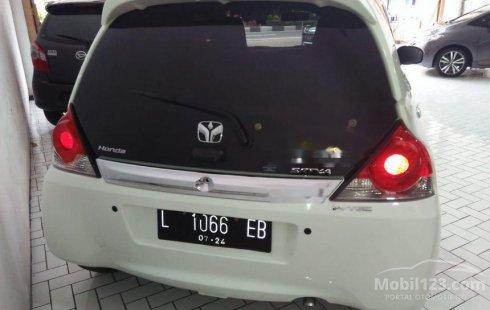 Jual mobil bekas murah Honda Brio Satya E 2017 di Jawa Timur