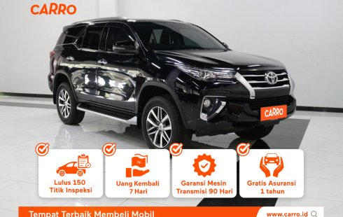 Toyota Fortuner 2.4 VRZ AT 2019 Hitam
