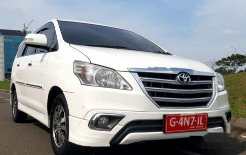 Jual mobil bekas murah Toyota Kijang Innova V 2015 di Banten