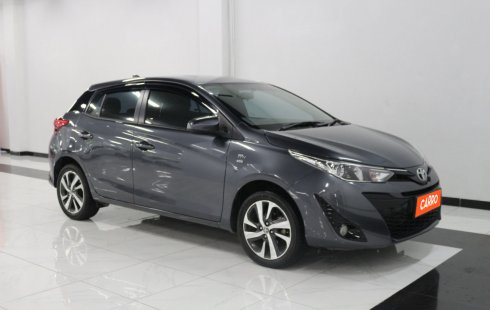 Toyota Yaris G AT 2019 Abu-abu