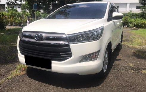 Toyota Kijang Innova 2.0 G Bensin AT 2018 Putih