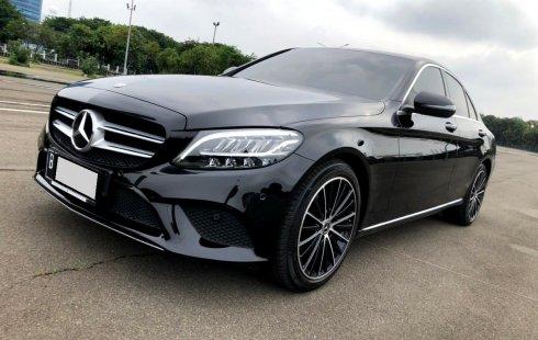 Mercedes-Benz C-Class C 200 Avantgarde AT 2019 Hitam