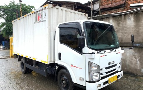 CDD Isuzu Elf 125ps NMR71 box besi 2019 NMR 71 bok 125 ps