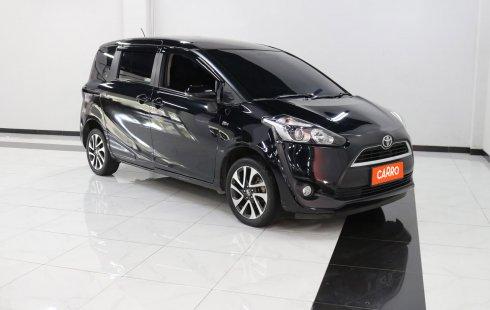 Toyota Sienta V AT 2018 Hitam