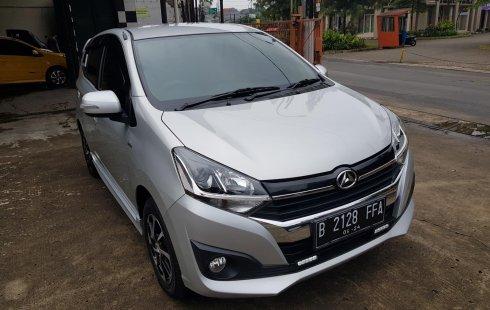 Daihatsu All New Ayla 1.2 R Mt 2019 Silver Metalik