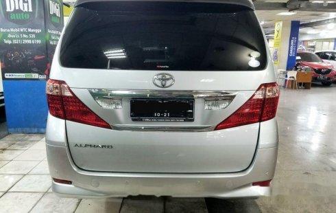 Jual Toyota Alphard G 2011 harga murah di DKI Jakarta