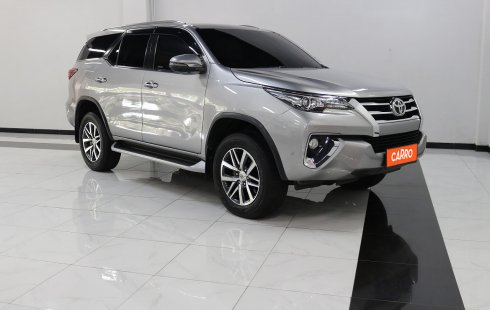 Toyota Fortuner 2.4 VRZ AT 2017 Silver