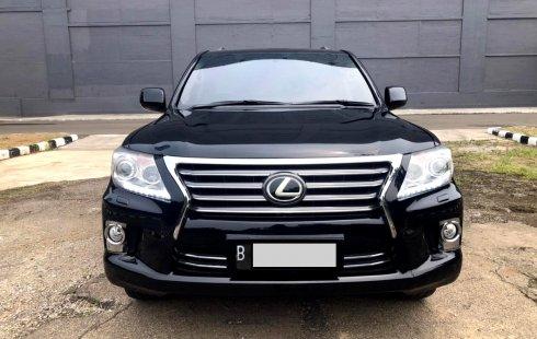 Lexus LX 570 2010 Hitam