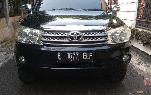 Jual Toyota Fortuner G Luxury 2011 harga murah di DKI Jakarta
