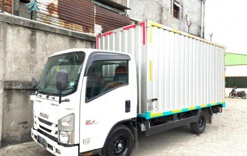 11000KM+BanBARU,MURAH Isuzu Elf Engkel LONG CDE NLR55TLX Box Besi 2017