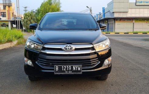 Toyota Kijang Innova 2.0 G MT 2017 Wrn Hitam Tgn 1 Low KM TDP 50Jt