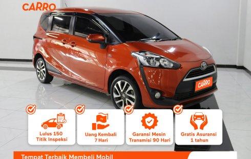 Toyota Sienta V MT 2017 Orange