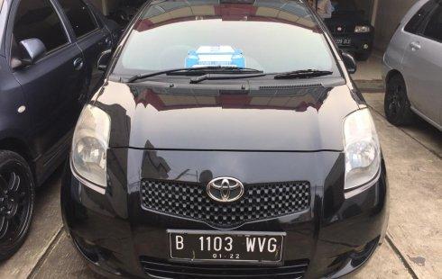 Toyota yaris 2007 hitam harga 75 jt bisa nego