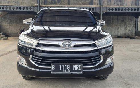Toyota Kijang Innova 2.0 Q AT 2017 Black On Black Terawat Siap Pakai TDP 40Jt