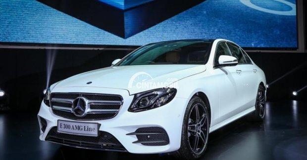 Peluncuran Mercedes-Benz E 300 AMG Line