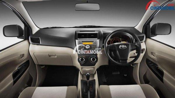 Gambar bagian dashboard mobil Toyota Avanza 2015