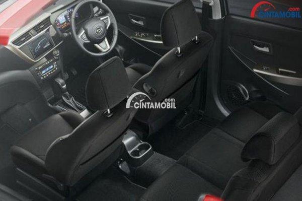 Gambar bagian kursi mobil Daihatsu Sirion 2018