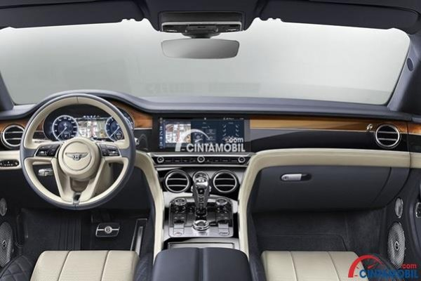 Fitur Terbaik Dalam Dashboard mobil Bentley Continental GT 2018