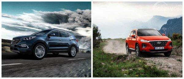 Generasi Ketiga dan Keempat Hyundai Santa Fe