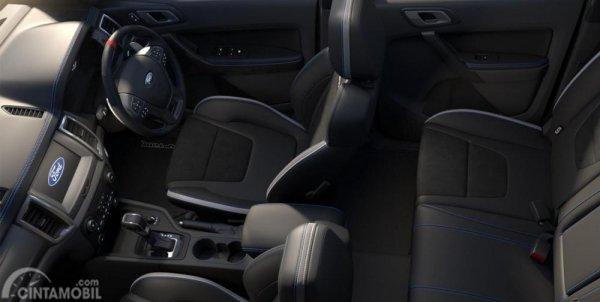 Gambar menunjukkan layout kurs Ford Raptor 2020