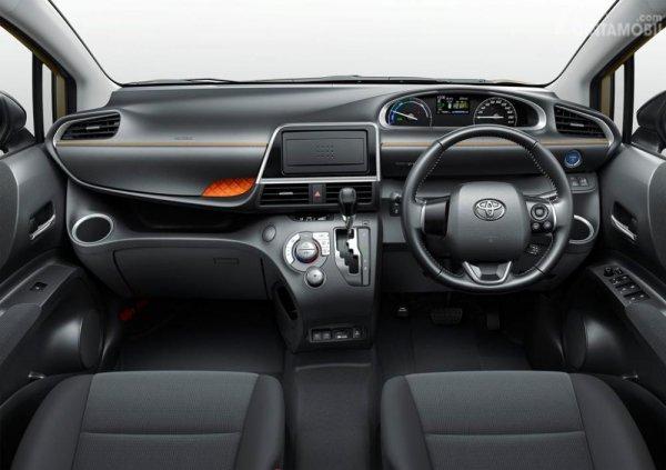 Desain Dashboard dan Setir Toyota Sienta 2019