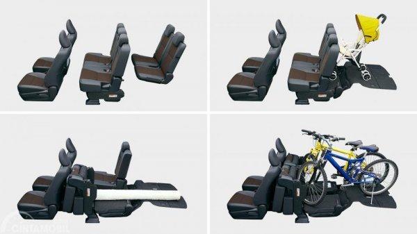 Toyota Sienta 2019 Seating Configuration