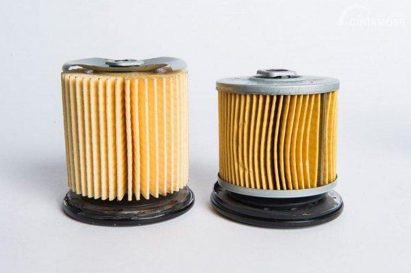 Pastikan mobil Anda menggunakan filter oli asli
