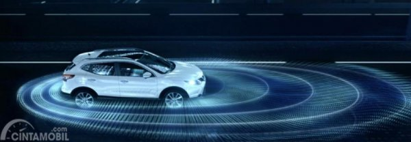 Gambar yang menjelaskan teknologi masa depan Nissan