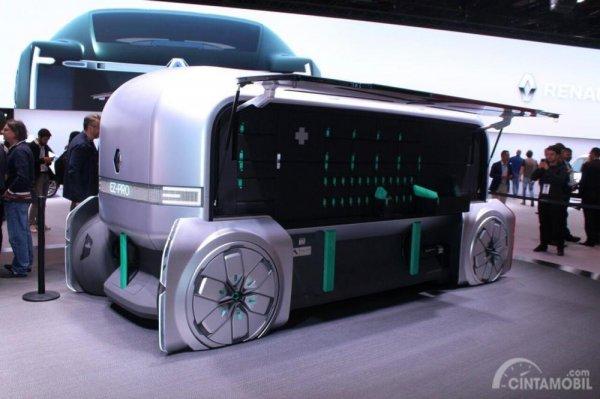 Gambar yang menunjukan desain mobil baru EZ-Pro dari Renault