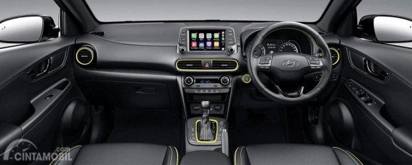Tampak layout interior Hyundai Kona Highlander 2019