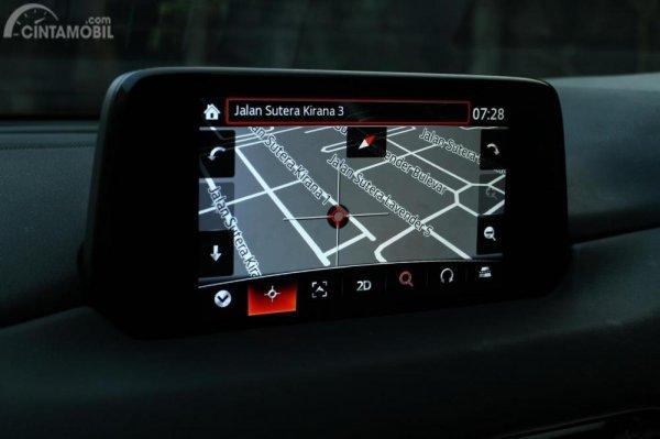 Inteface menu Navigation MZD Connect