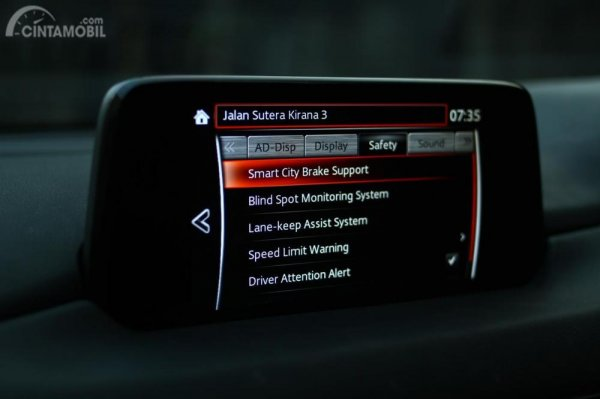 Settings MZD Connect