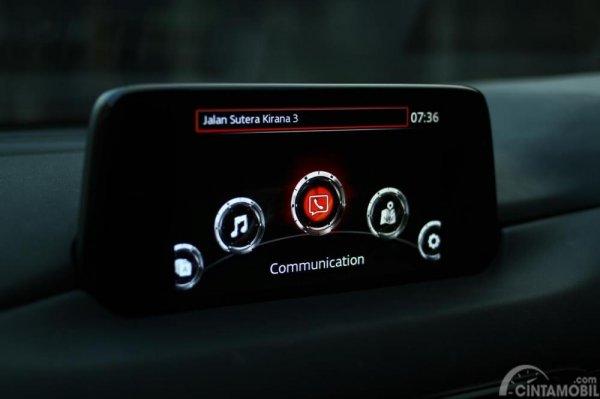 gambar menunjukan fitur MZD Connect Interface