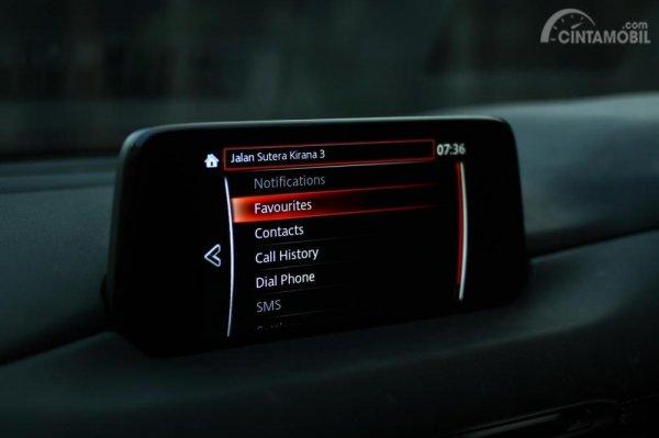 menu Communication MZD Connect