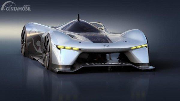 Gambar yang menunjukan desain mobil sport Time Attack Concept