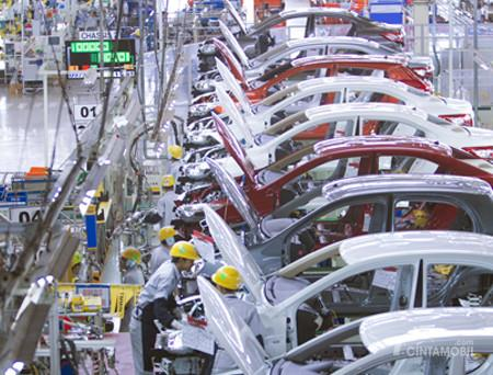 PT. TMMIN memang telah melakukan berbagai kegiatan ekspor mobil di 15 negara
