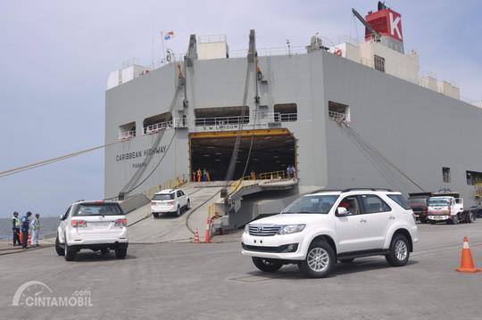Ekspor Mobil Indonesia memang memiliki targetnya sendiri sesuai perencanaan pemerintah Indonesia