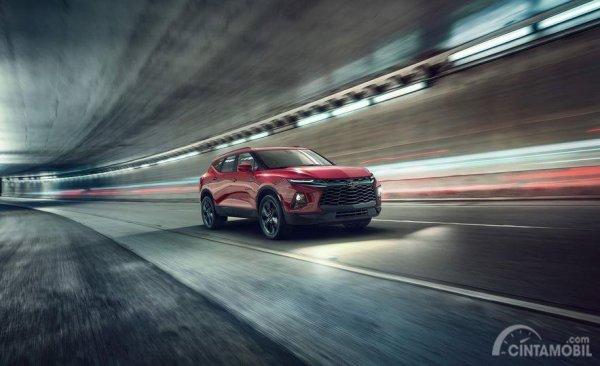 Gambar yang menunjukan mobil baru Chevrolet Blazer 2019