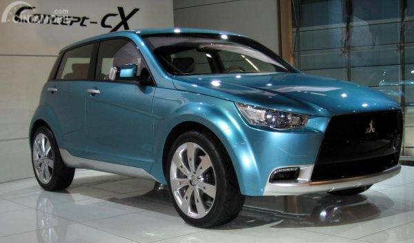 Gambar yang menunjukan Concept-cX yang dipamerkan pada Frankfurt Motor Show 2007