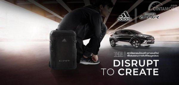 Banner Promo Toyota CH-R Adidas Edition
