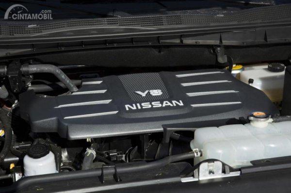Operasi mesin Nissan Titan XD Pro 4X 2019 mampu menyemburkan daya maksimum di angka 390 HP